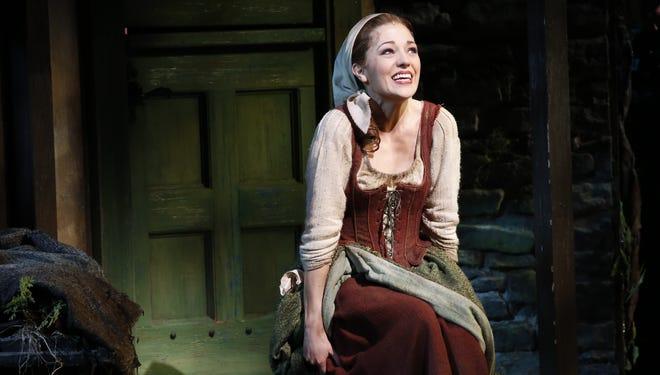 Laura Osnes stars as Cinderella in 'Rodgers + Hammerstein's Cinderella on Broadway.'