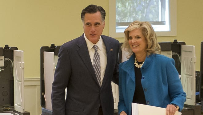 Mitt Romney and his wife, Ann, emerged from a post-election silence in a Fox News interview.