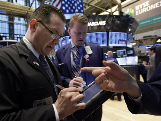U.S. stocks rise as Dow hits record