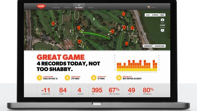 Game Golf takes data gathered during your golf rounds and puts it into an easy-to-use software program for tracking your progress.