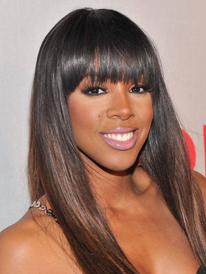 Kelly Rowland attends BET's Rip The Runway 2013.