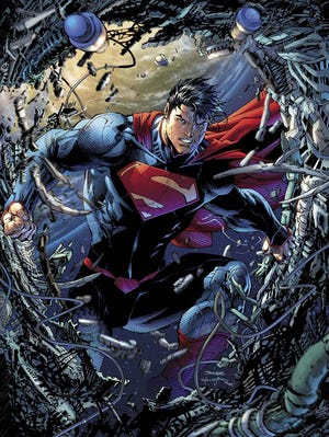 """The Man of Steel busts loose in an all-new series """"Superman Unchained,"""" which debuts in June."""
