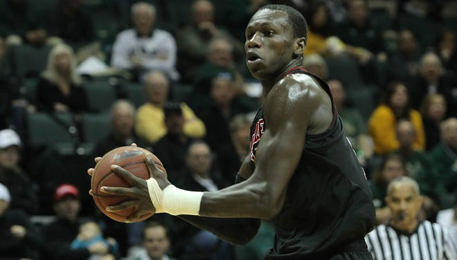 Louisville center Gorgui Dieng has recovered from an early-season wrist injury to average 9.9 points, third on the team.
