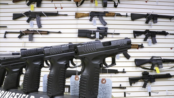 Researchers could not establish a cause and effect relationship between guns and deaths, only an association.