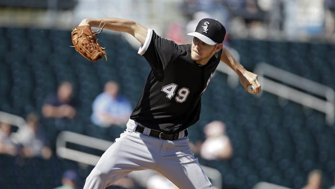White Sox's Chris Sale went 17-8 with a 3.05 EA and 192 strikeouts in his first season a starter