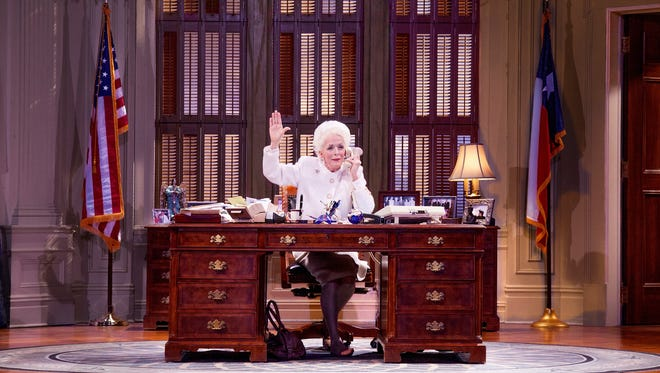 Holland Taylor stars as Texas Governor Ann Richards.