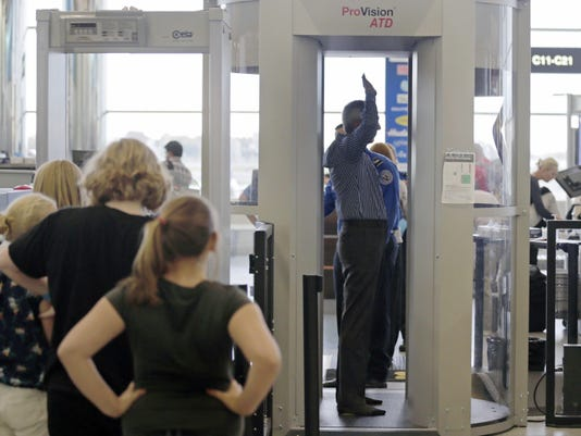 Small airports irked by removal of body scanners