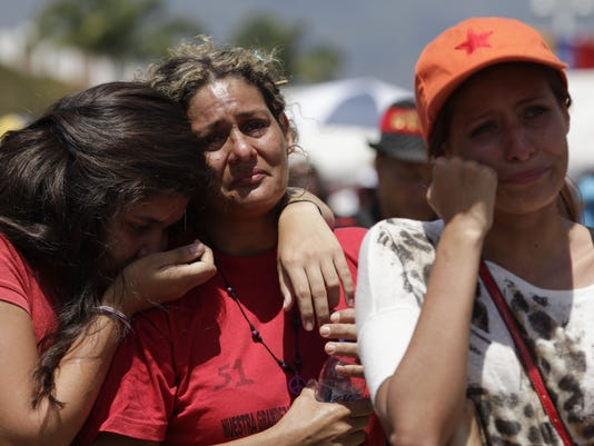 chavez mourners