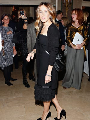 Sarah Jessica Parker swapped her now-signature flats for stilettos on March 4 in New York.