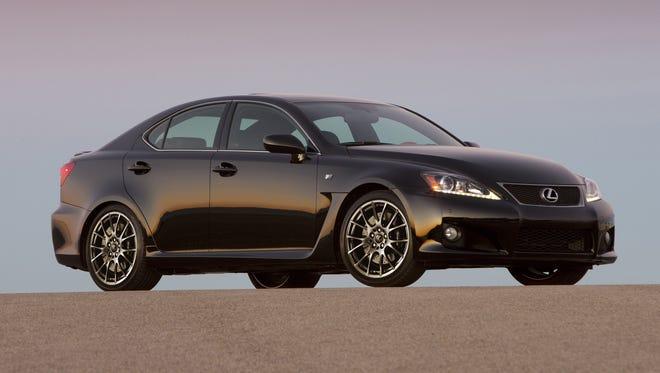 2012-2013 Lexus IS F. Look quickly.