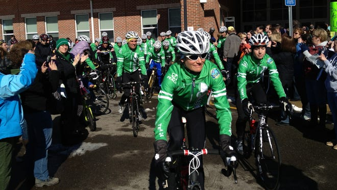 Riders set out Saturday on 400-mile trip to Washington.