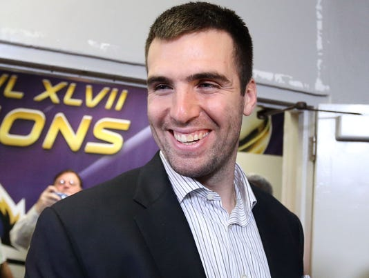 flacco laughs at ray lewis