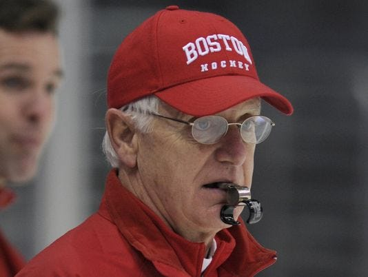 NCAA: Legendary Boston U. Hockey Coach Jack Parker Retires