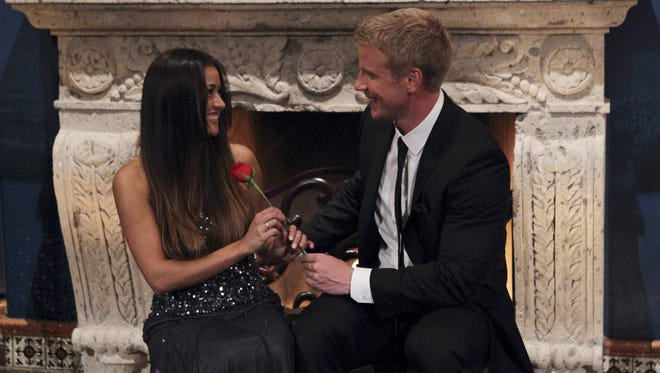 Catherine and Sean on the Jan. 7 premiere of 'The Bachelor.'