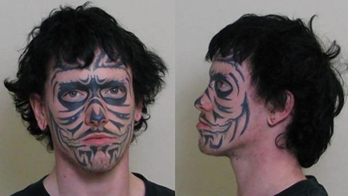 Ill Burglary Suspect Has Face Tattoo You Won T Forget Your skin is a canvas. ill burglary suspect has face tattoo