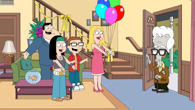 Seth MacFarlane's 'American Dad' will move from Fox to TBS in 2014.