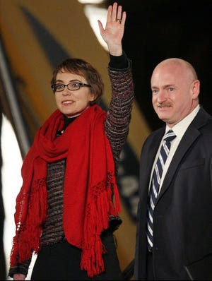 Former congresswoman Gabrielle Giffords, D-Ariz., and her husband, Mark Kelly, have become outspoken gun-control advocates.