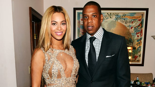Beyonce and Jay-Z were among the celebrities targeted.