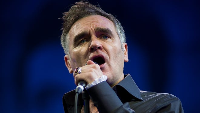 Morrissey has been hospitalized with pneumonia in San Francisco and has rescheduled some of his concert dates.