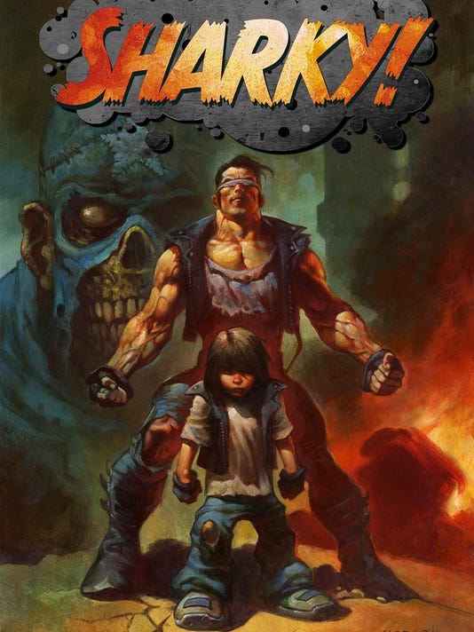 Sharky cover