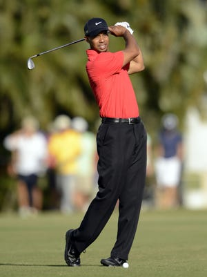 Tiger Woods can still drive TV ratings.