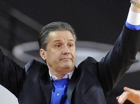Calipari discusses Kentucky's 'humbling' season, NCAA tournament hopes