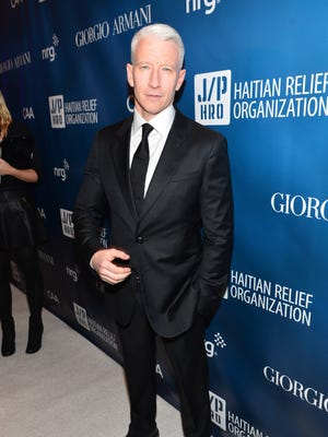 Anderson Cooper on Jan. 12 in Los Angeles.