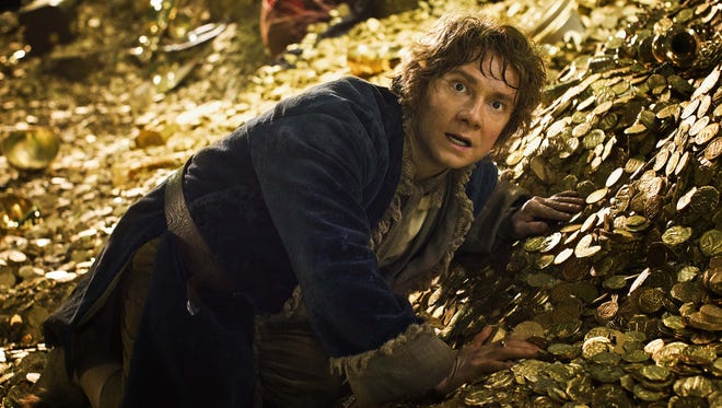 """On March 24, Peter Jackson hosts a live event showing the first footage from """"The Hobbit: The Desolation of Smaug,"""" featuring Martin Freeman."""