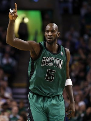Kevin Garnett is now 15th on the NBA all-time scoring list.