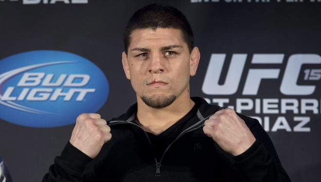 Nick Diaz showed up to a pre-fight news conference back in January but was a no-show for Wednesday's UFC 158 open workout.