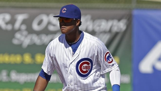 Sidelined since Feb. 27, the All-Star got a single and walked Wednesday in the Chicago Cubs' 2-0 loss to the Colorado Rockies.
