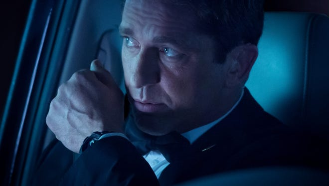 A former Secret Service agent played by Gerard Butler has to save the president when commandos storm the White House in 'Olympus Has Fallen.'
