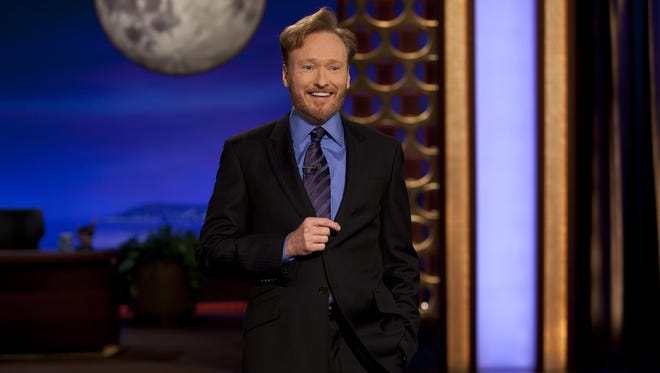 Conan O'Brien performs.