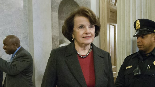 Sen. Dianne Feinstein, D-Calif., proposed the measure that would ban assault weapons.