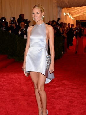 Gwyneth Paltrow attends the Costume Institute Gala at the Met on May 7, 2012 in New York City.