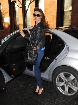 Miranda Kerr on Feb. 27 in New York City.