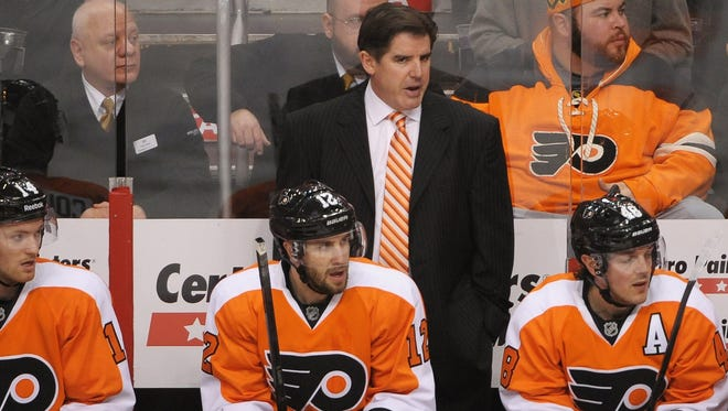Peter Laviolette has been coach of the Philadelphia Flyers since early in the 2009-10 season.