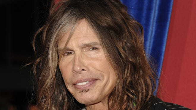 Steven Tyler arrives at the world premiere of  'The Incredible Burt Wonderstone' in Los Angeles.