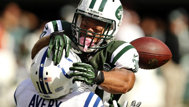 LaRon Landry (top) will bring his hard-hitting style to Indianapolis after agreeing to a deal with the Colts.