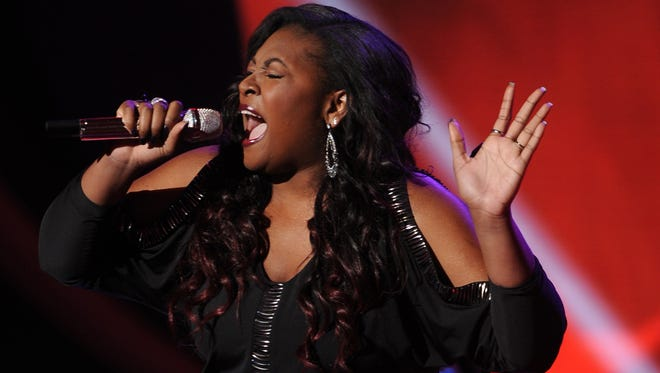 Candice Glover is a finalist on 'American Idol.'