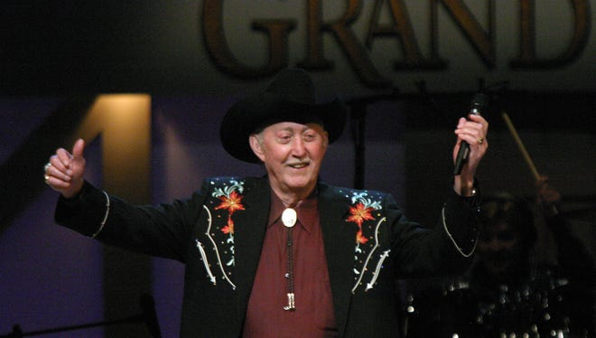 Jack Greene performs at the Grand Ole Opry in Nashville Tenn. in August, 2006.