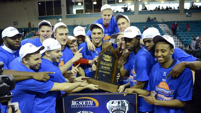 Big South champion Liberty opens the NCAA tournament Tuesday against North Carolina A&T.