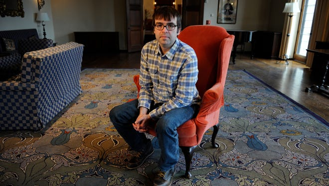 Novelist Owen King's (son of Stephen) debut novel, 'Double Feature,' is set in part on a campus modeled after Vassar.