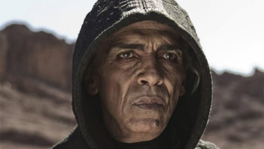 The History Channel's Satan, played by actor Mohamen Mehdi Ouazanni.