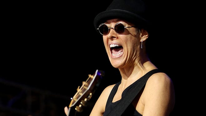 Michelle Shocked, shown in 2011, has felt a backlash over her remark.