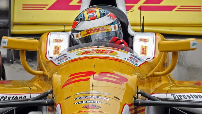 IndyCar driver Ryan Hunter-Reay knows success and a full-time ride can be fleeting.