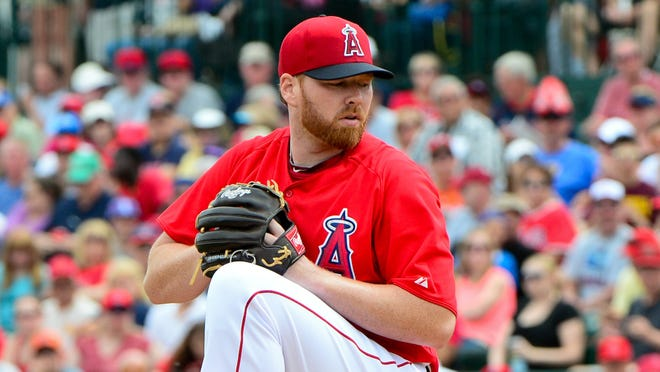 Tommy Hanson went 13-10 with a 4.48 ERA with Atlanta in 2012.