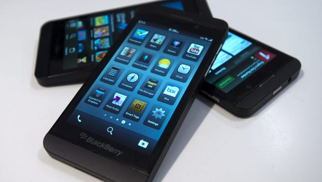 The BlackBerry Z10 makes its debut in the U.S. this Friday.