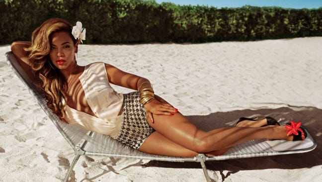 Beyonce stars in H&M's summer 2013 campaign.