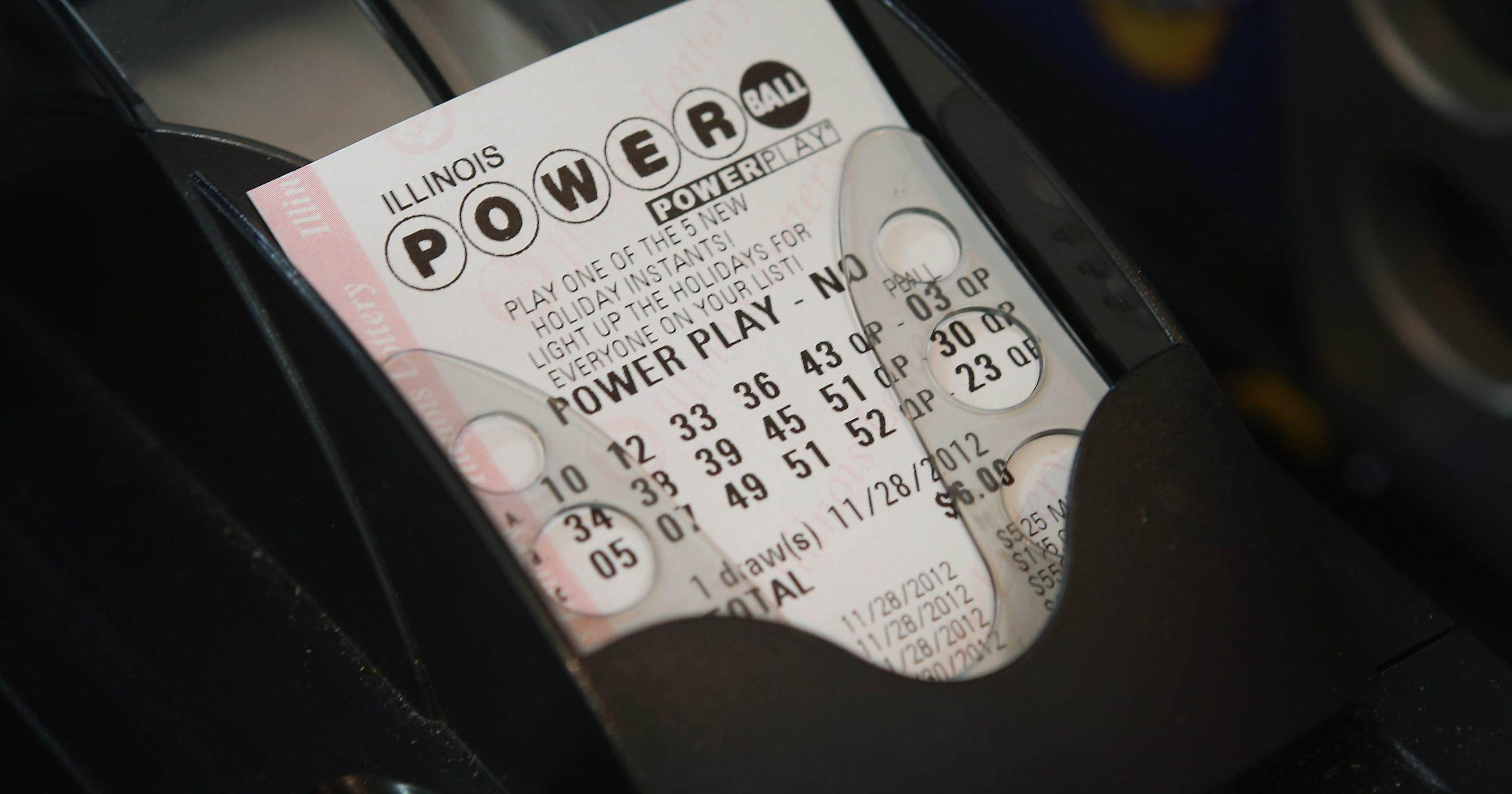Winning 338m Powerball Jackpot Ticket Sold In N J